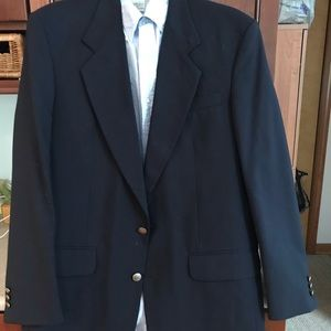 Mens Suit Jacket and Button Down Shirt